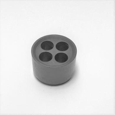 Insert for M25 Nylon Cable Gland 4 Holes M25-H4 - 1 Pack of 10 pcs
