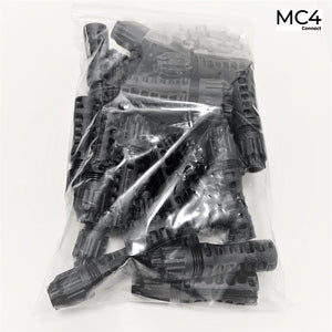 Genuine MC4-EVO 2 1.5KV 4-6mm Solar PV Connectors PV-KBT4-EVO2/6I-UR - 1 Pack of 25 Pairs