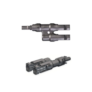 Genuine MC4 Branch Connector PV-AZS4 with PV-AZB4 - One Pack of 10 Pairs