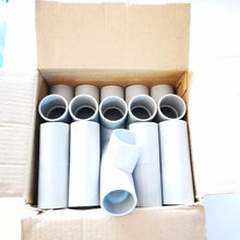 Load image into Gallery viewer, 25mm PVC Plain Tee - 1 Box of 10 pcs