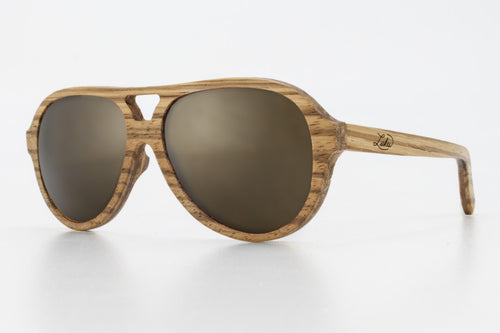 Mavericks Zebrawood Frame