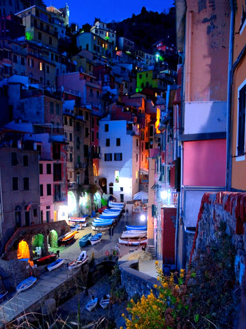 'Cinqueterre Evening'