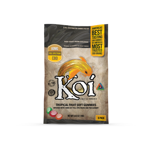 Koi Cbd Tropical Gummies Regular