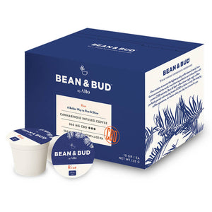 Allo Bean & Bud - CBD Coffee - Rise Single Serve Pods
