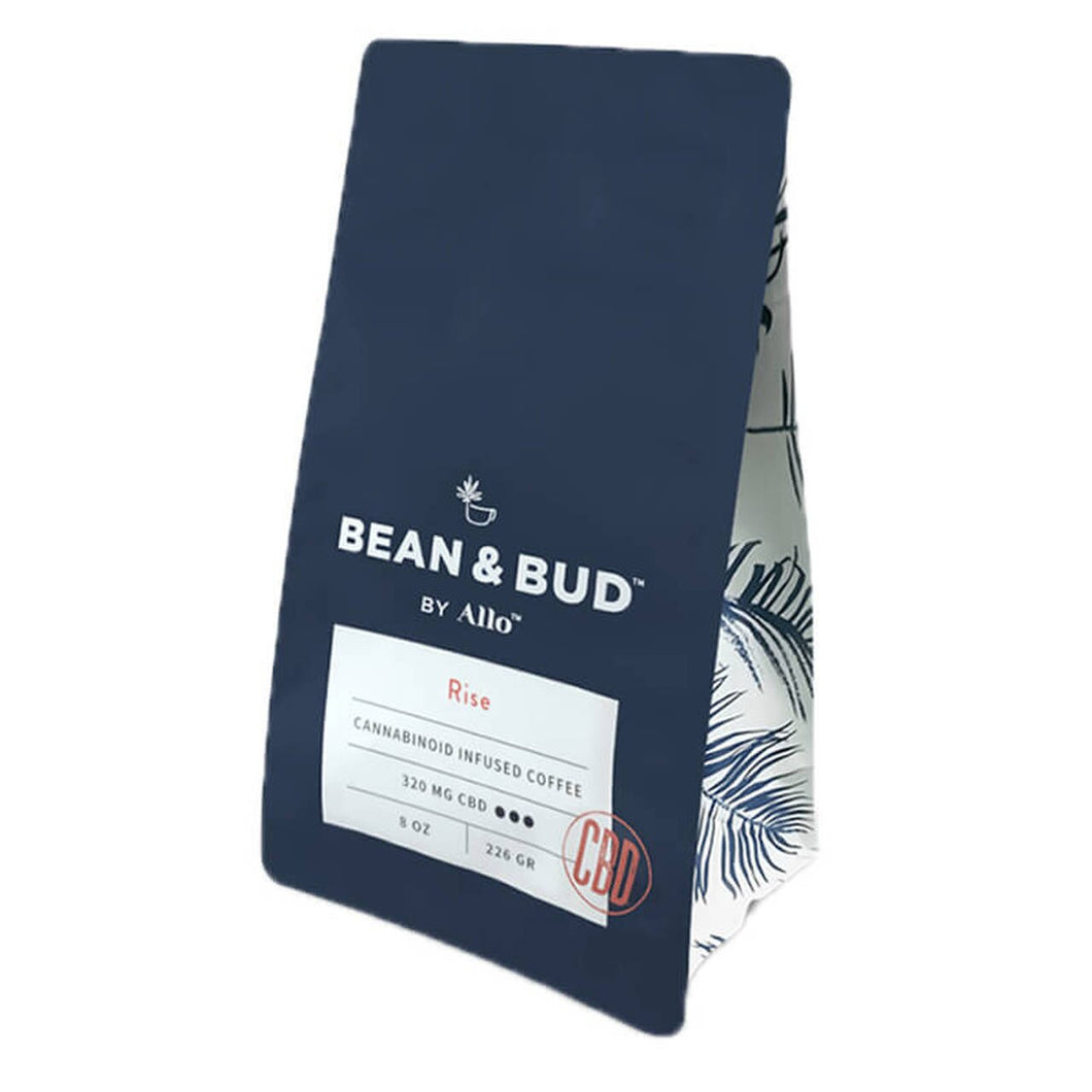 Allo  Bean & Bud - CBD Coffee - Rise