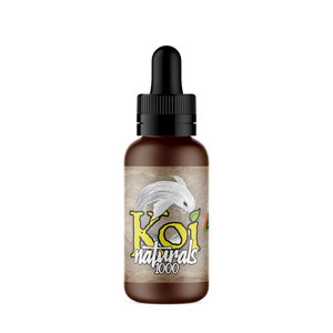 Koi Naturals Hemp Extract Cbd Tincture Lemon-lime