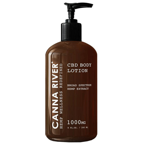 CANNA RIVER - CBD TOPICAL - BROAD SPECTRUM BODY LOTION