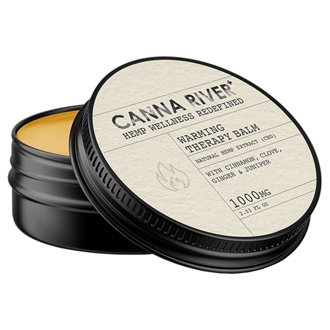 CANNA RIVER - CBD TOPICAL - WARMING BALM