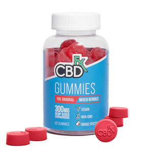 CBDFX - CBD EDIBLE - BROAD SPECTRUM GUMMIES MIXED BERRY