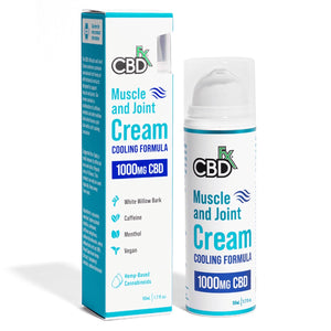 CBDFX - CBD TOPICAL - MUSCLE & JOINT COOLING CREAM