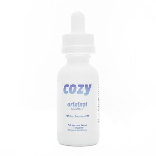 Shop Serenity Potions for great CBD products like this Cozy CBD Tincture