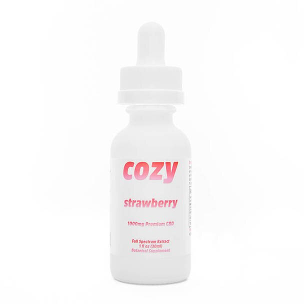 Shop Cozy Strawberry CBD Tincture from Serenity Potions