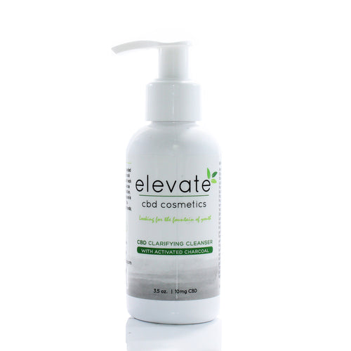 Elevate CBD Clarifying Cleanser with CBD oil from Serenity Potions