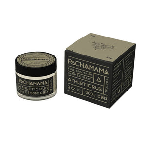 PACHAMAMA - CBD TOPICAL - ATHLETIC RUB