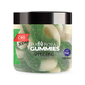 RA Royal CBD - Apple Ring Gummies