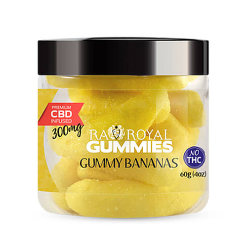RA Royal CBD - Gummy Bananas Gummies