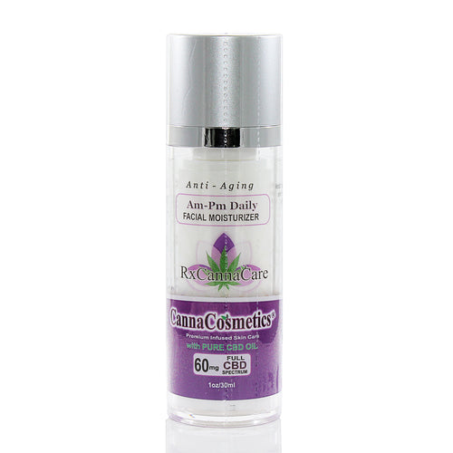 Anti aging CBD topical cream for morning and night