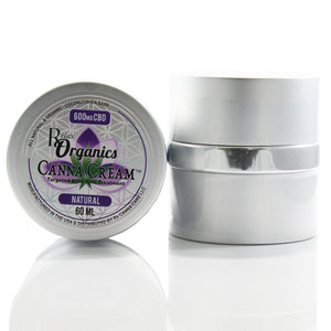 small jar of CBD topical cream