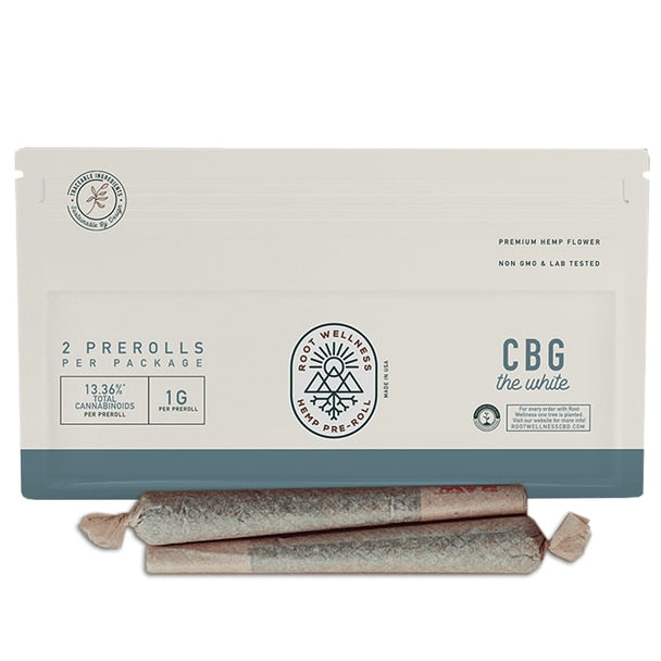 Root Wellness - Cbg Pre-roll 2-pack