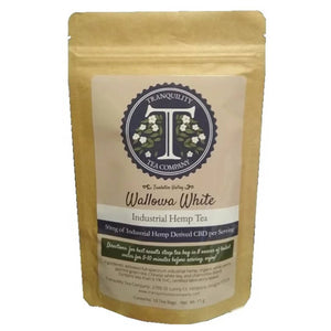 Tranquility Tea Company - CBD Tea Wallowa White