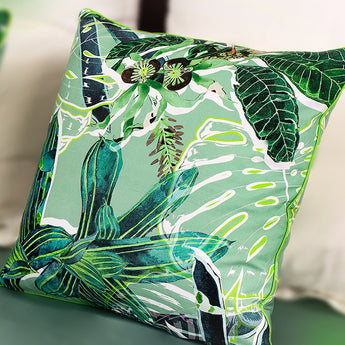 Summertime in Bali 100% Cotton Cushion