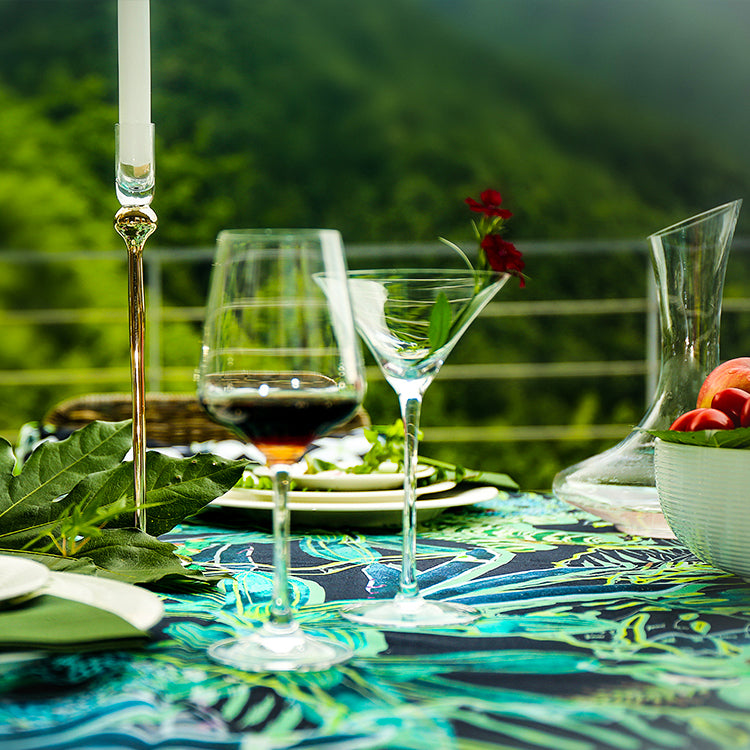 Summertime in Bali 100% Cotton  Tablecloth