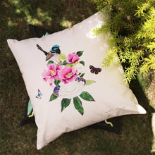 Cherish Birds & Flowers 100% Cotton Cushion