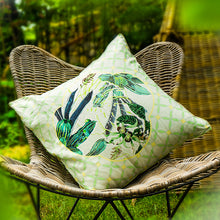 Summertime In Bali 100% Linen Cushion