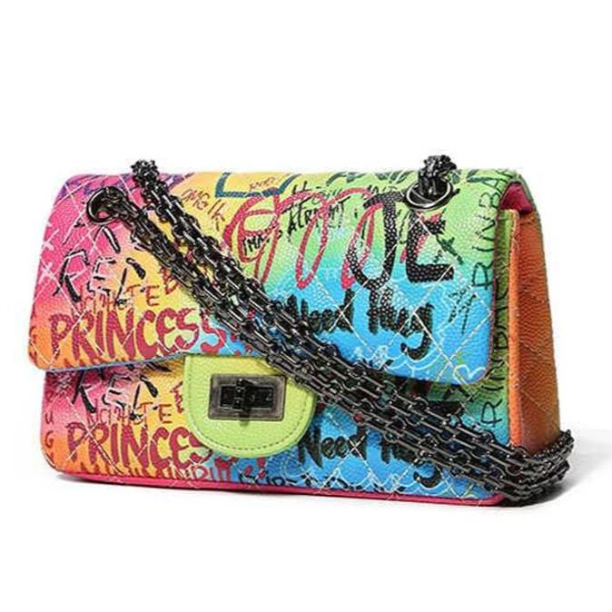"""Graffiti Babe"" Crossbody Bag"