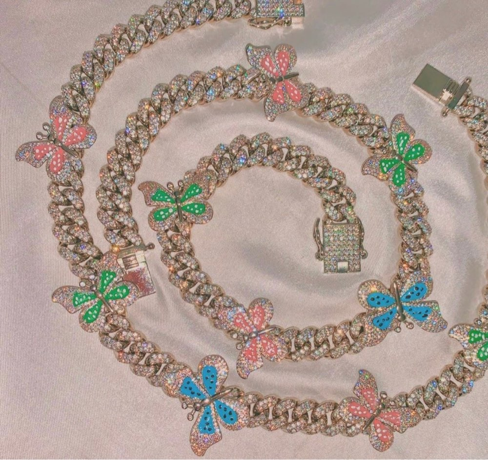 """Icy Fairy"" Cuban Chain"