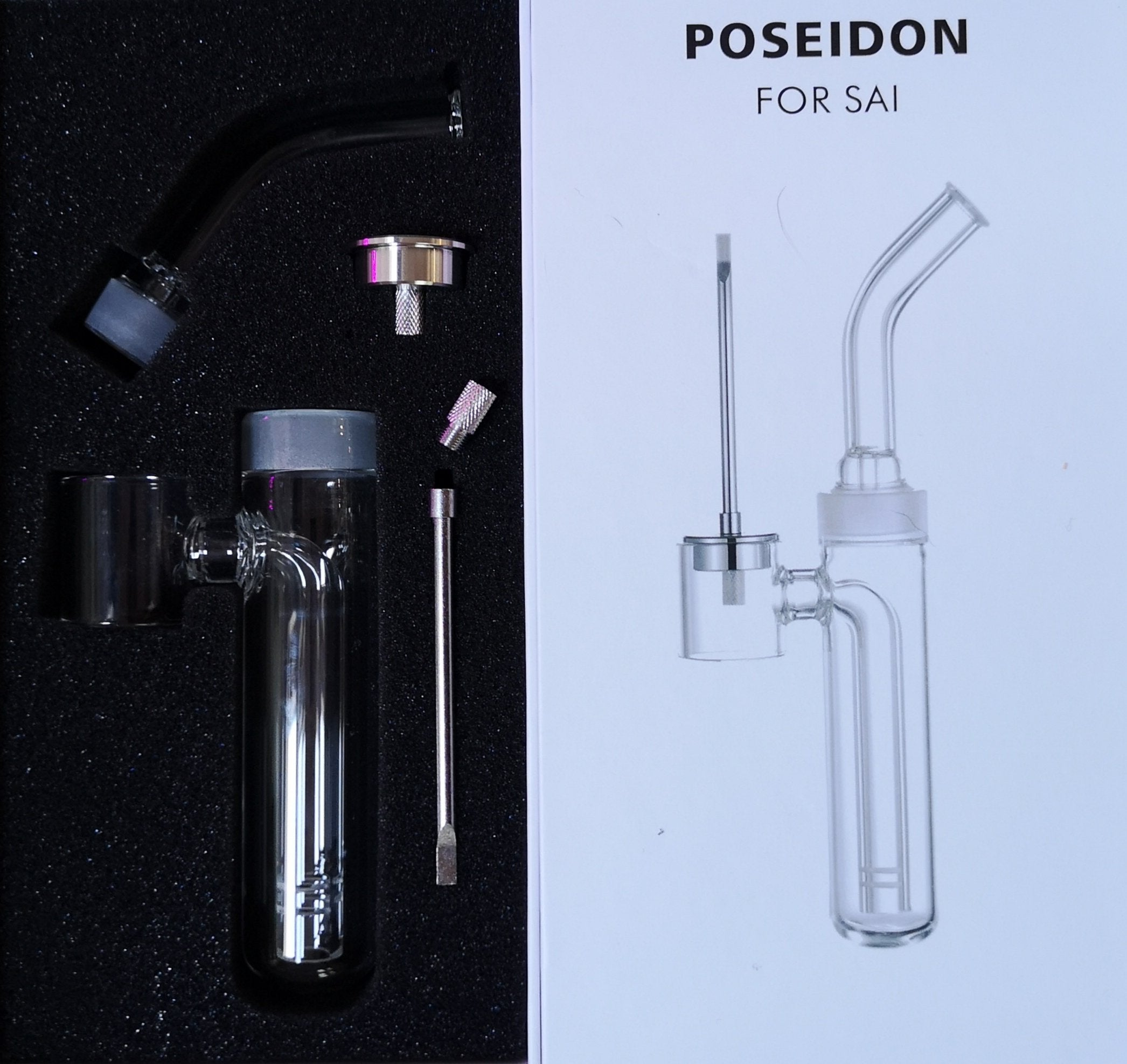 Poseidon V2 Water Tool Attachment for HVT Sai Atomizer - Recommended Vape Supplies UK
