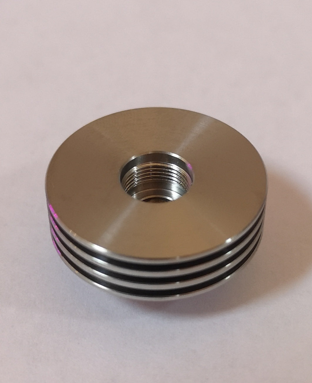 HVT Sai Stainless Steel Spacer top view - Recommended Vape Supplies