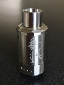 New Sequoia Atomizer by HVT in SS