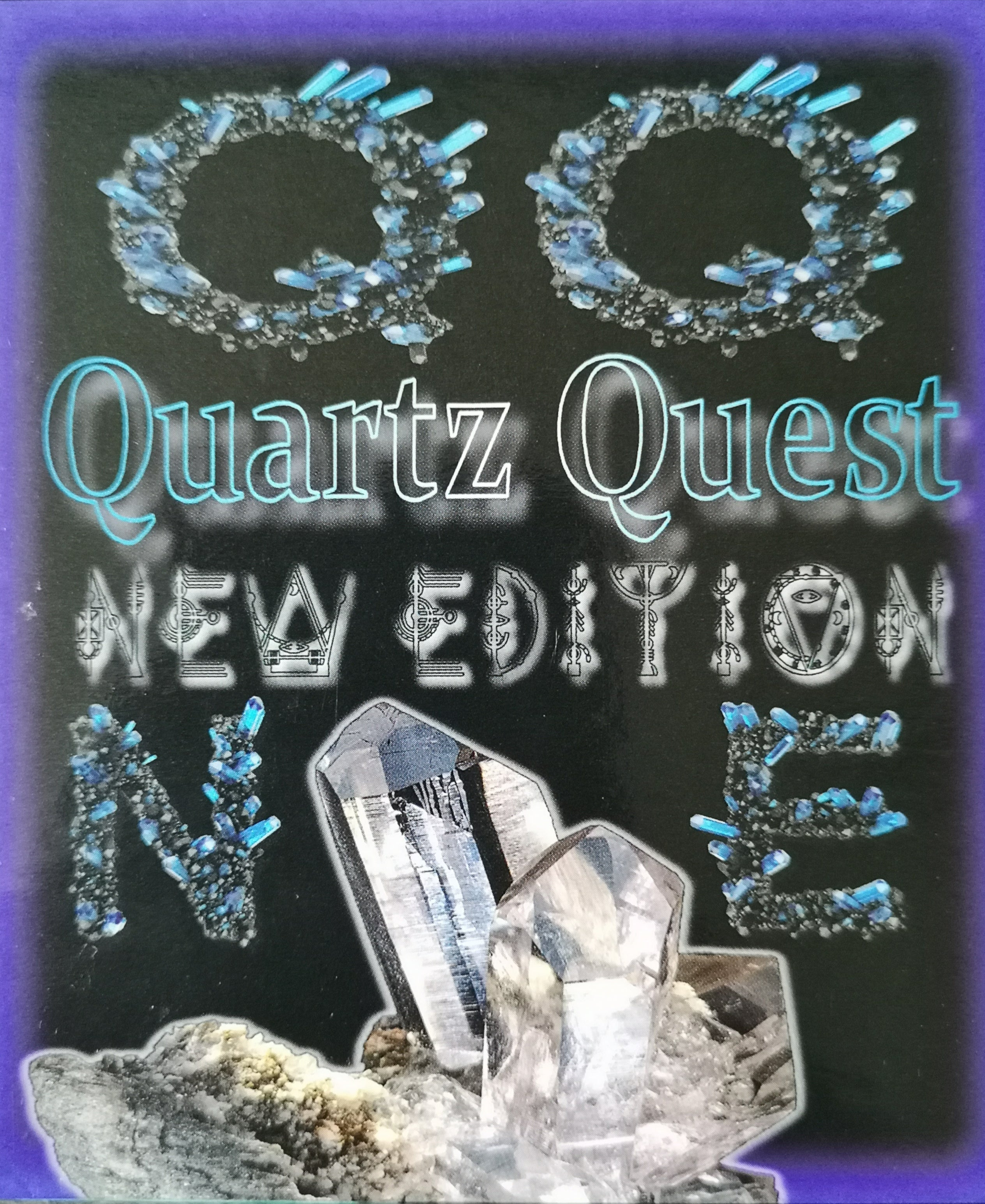 Quartz Quest New Edition... we just like this box XD