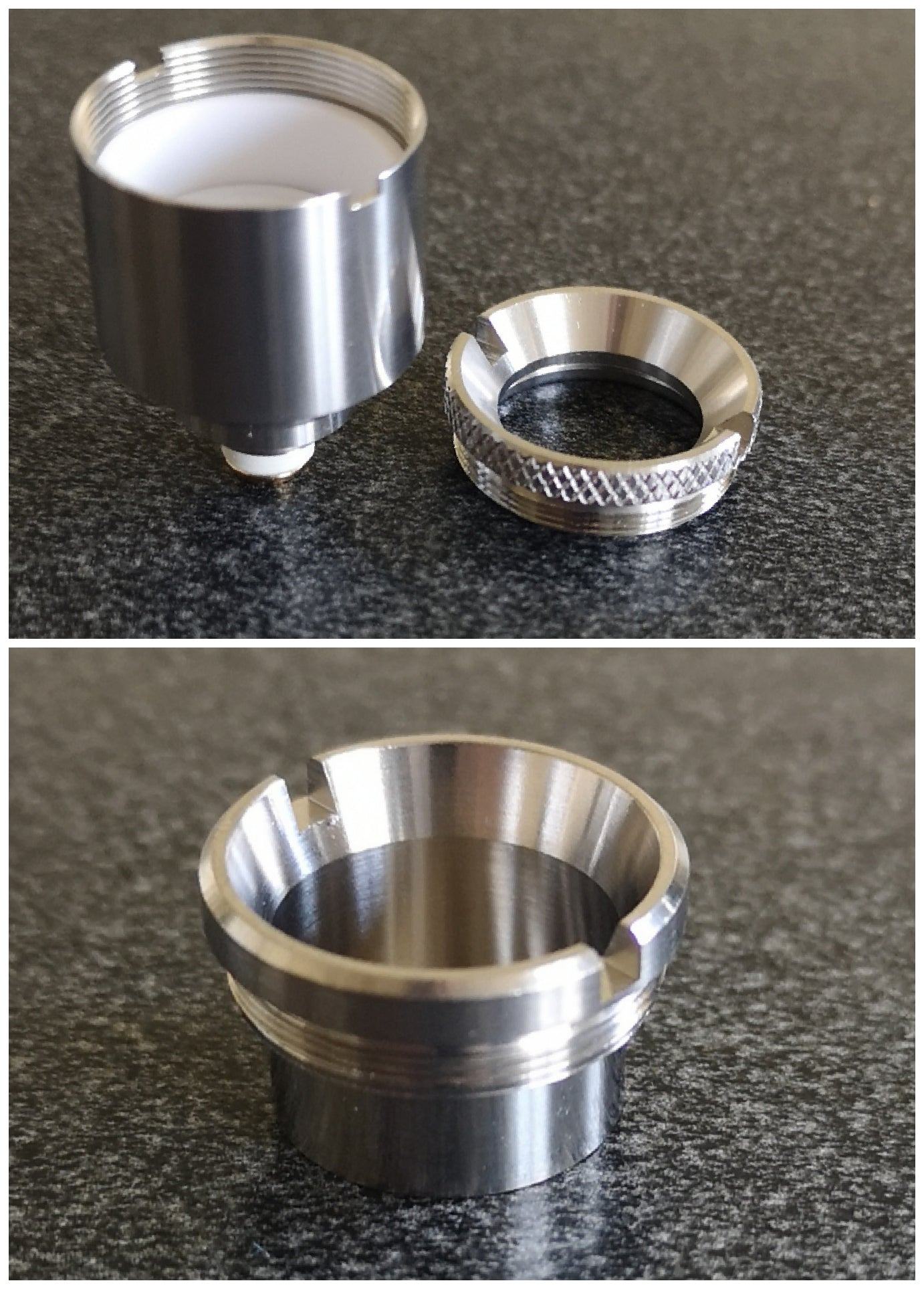 Replacement Coil and Titanium Cup for New Sequoia and Core e-rig