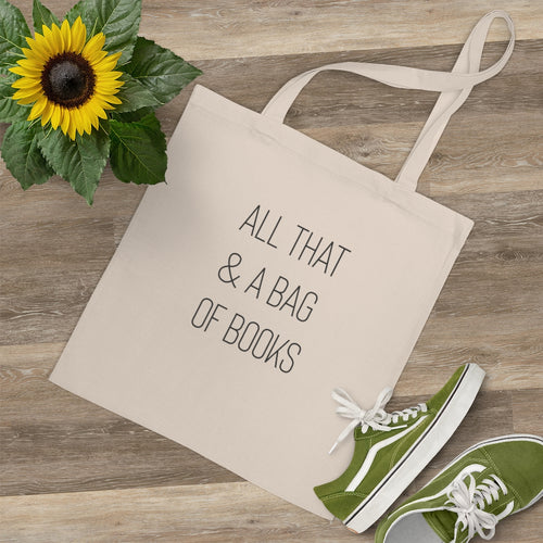 All That & A Bag of Books Tote Bag