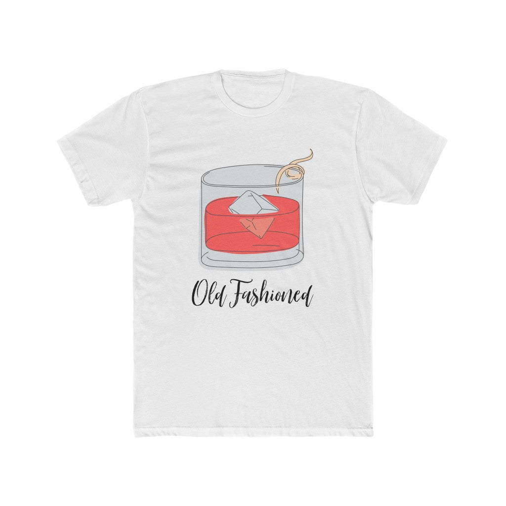 OLD FASHIONED Men's Cotton Crew Tee
