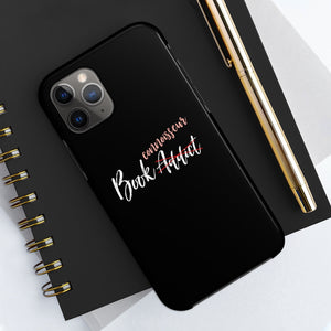 Book Connoisseur Black Case Mate Tough Phone Cases