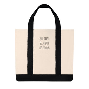 All That & A Bag of Books Shopping Tote