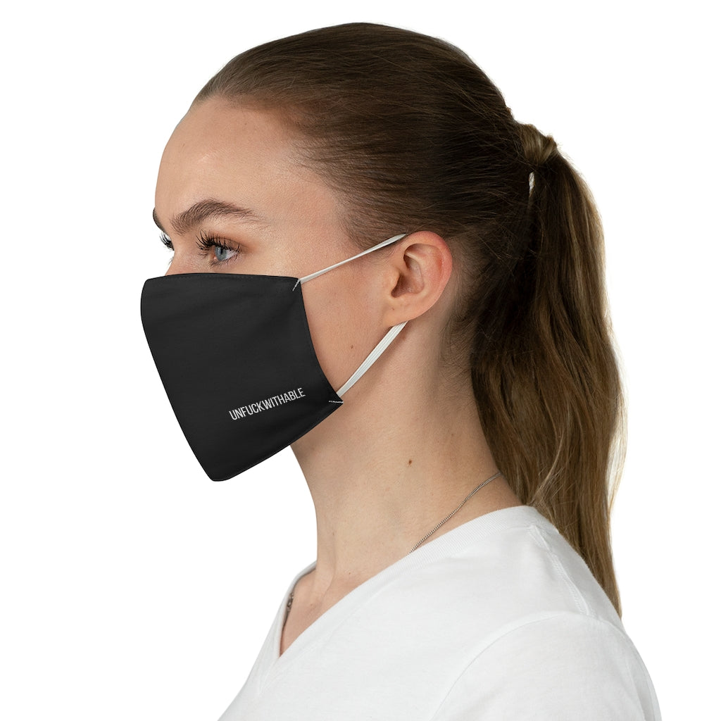 UNFUCKWITHABLE Fabric Face Mask