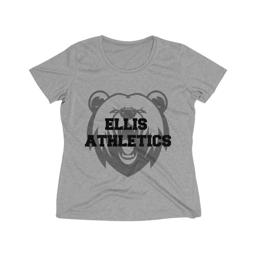 ELLIS ATHLETICS Women's Heather Wicking Tee