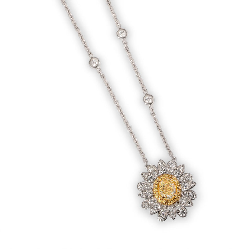 CUSTOM DAISY NECKLACE