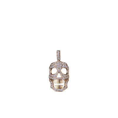 DIAMOND SKULL PENDANT ONLY - SMALL