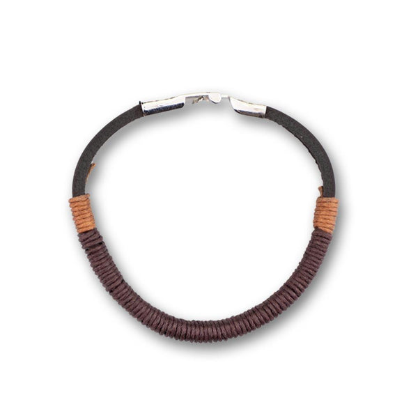 The Reveler Black Hemp Bracelet