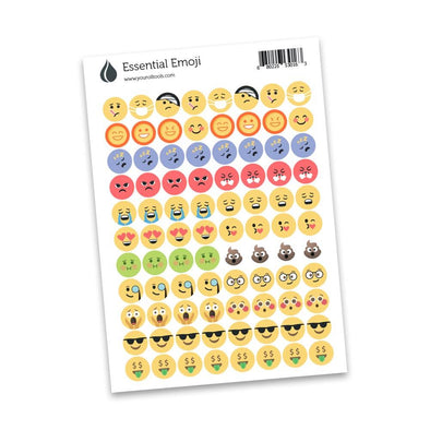 Emoji Lid Stickers