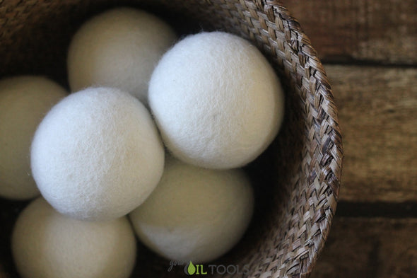 Dryer Balls by Smart Sheep (New Zealand Wool) - roller bottles - 8