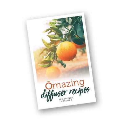 O'mazing Diffuser Recipe Book Inspired by doTERRA essential oils