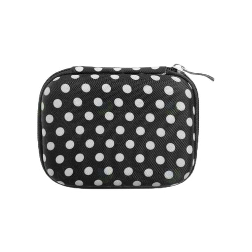 Roller Bottle Hard Shell Case (Black Polka Dots) - Your Oil Tools