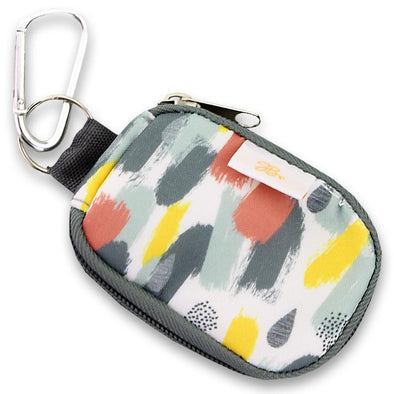 SB Keychain 8 Oil White Brushstroke
