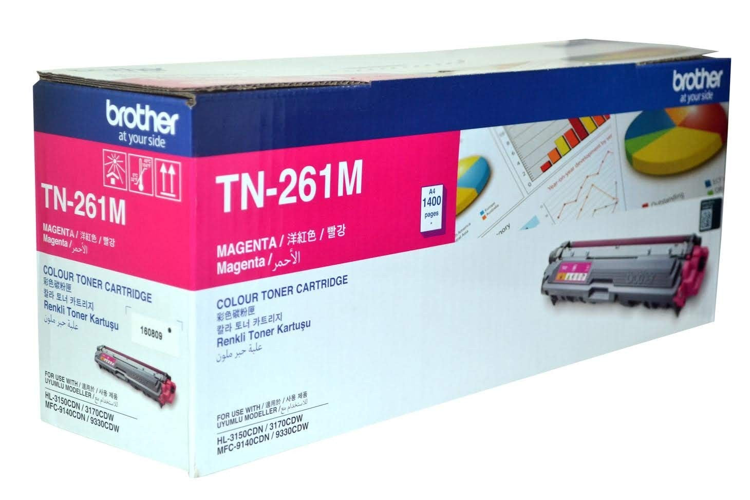 Brother TN-261 Colors Magenta